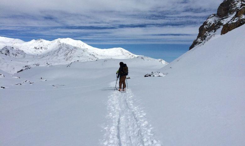 Ski de randonnée autour des Aiguilles Rouges-6