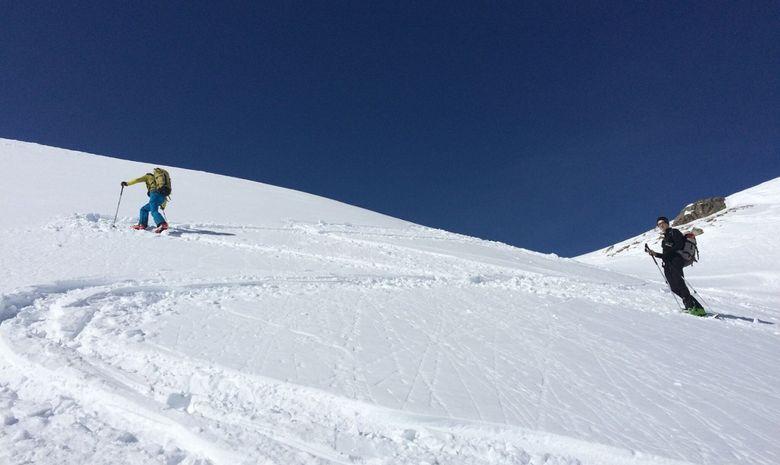 Ski de randonnée autour des Aiguilles Rouges-5