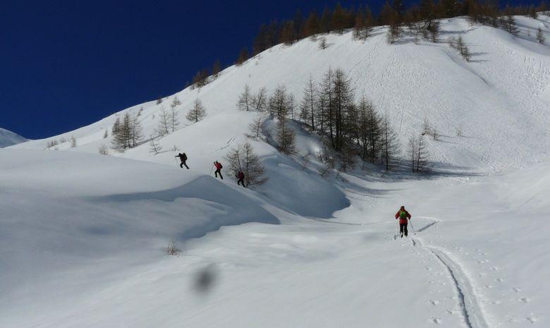 Ski de randonnée autour des Aiguilles Rouges-4