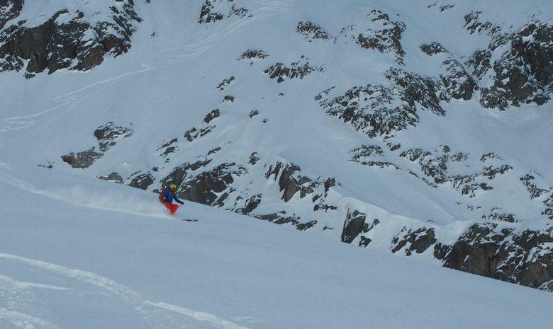 Ski de randonnée autour des Aiguilles Rouges-3