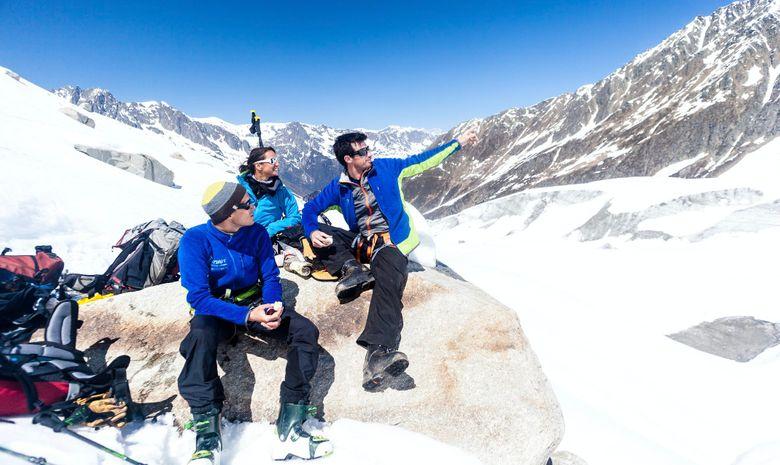 Freerando sur les glaciers de Chamonix-3