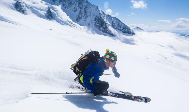 Freerando sur les glaciers de Chamonix-5