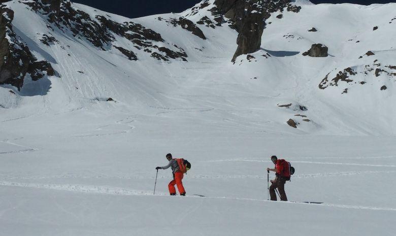 Freerando sur les glaciers de Chamonix-7