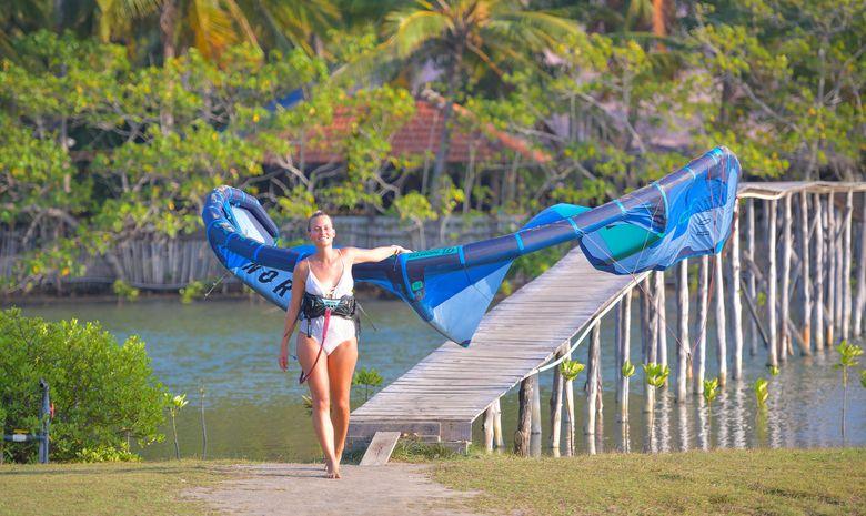 Séjour autonome en kitecamp au Sri Lanka