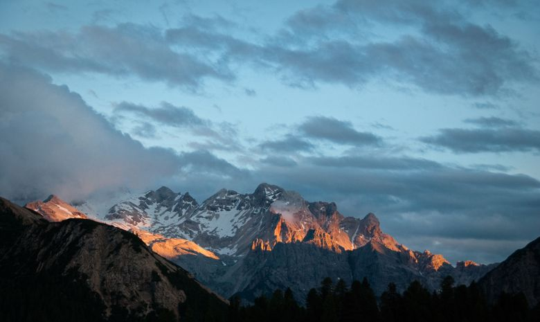 Séjour magique en raquettes aux Dolomites