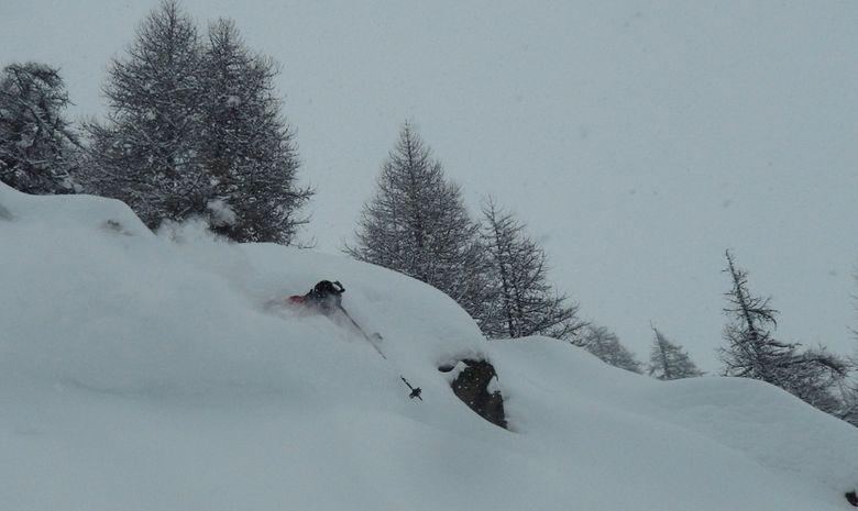 Séjour freeride en Savoie -5