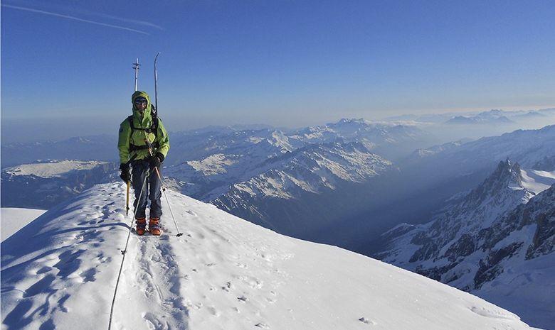 Le Mont-Blanc en ski de randonnée-2