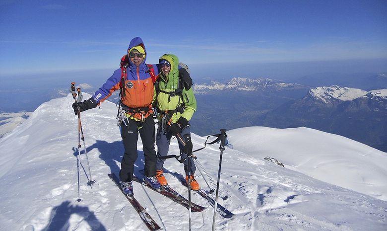 Le Mont-Blanc en ski de randonnée-7