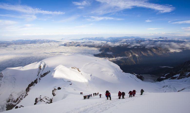 Ascension Grand Paradis et Mont-Blanc en 5 jours