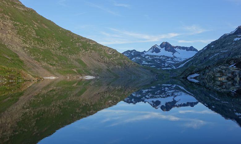 Les 3 Lacs et le Glacier de l'Etendard