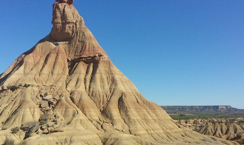 Trek dans le désert des Bardenas -1