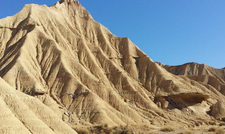 Trek dans le désert des Bardenas -2