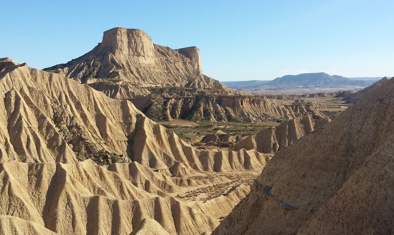 Trek dans le désert des Bardenas -5