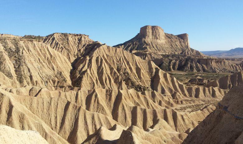 Trek dans le désert des Bardenas -6