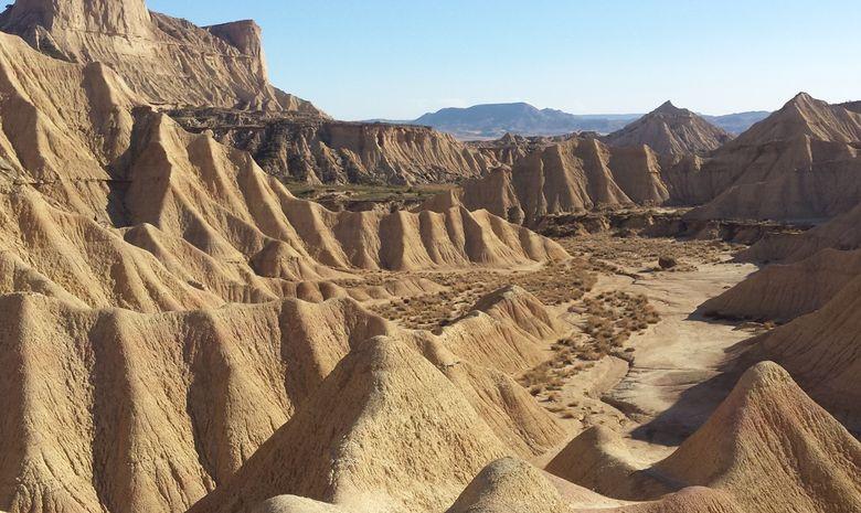 Trek dans le désert des Bardenas -7
