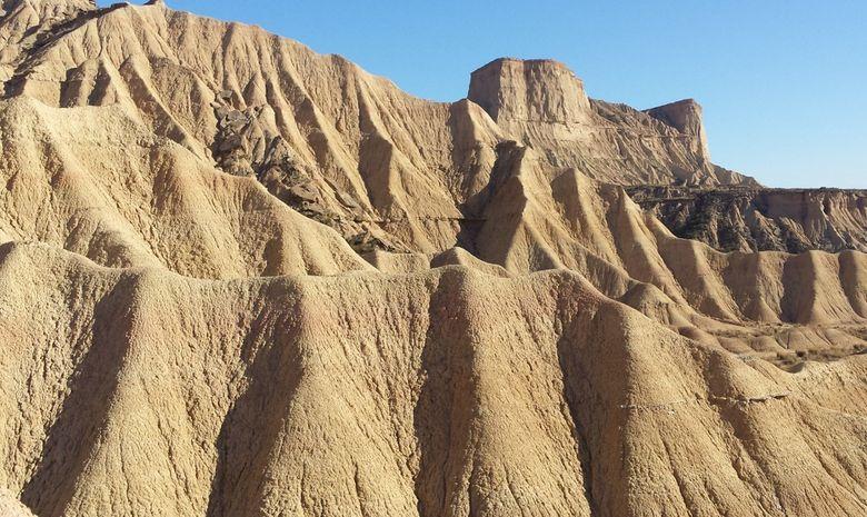 Trek dans le désert des Bardenas -10