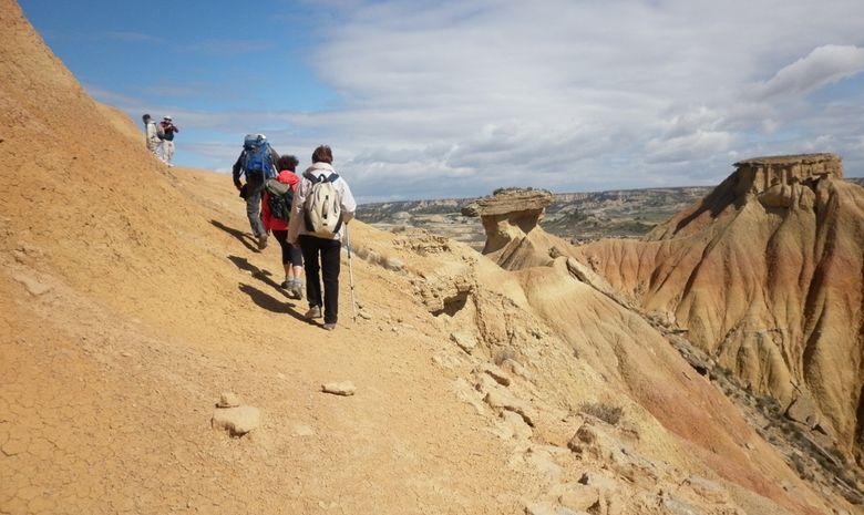 Trek dans le désert des Bardenas -3
