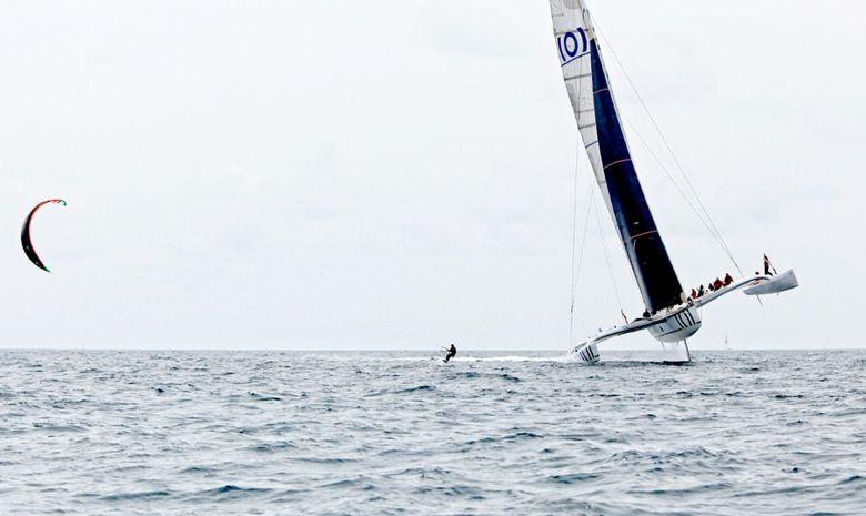 Naviguez en course à bord d'un trimaran 60 pieds