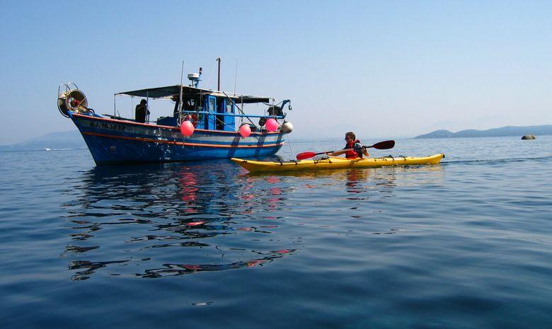 Semaine de kayak sur la Côte Ouest de la Corse-8