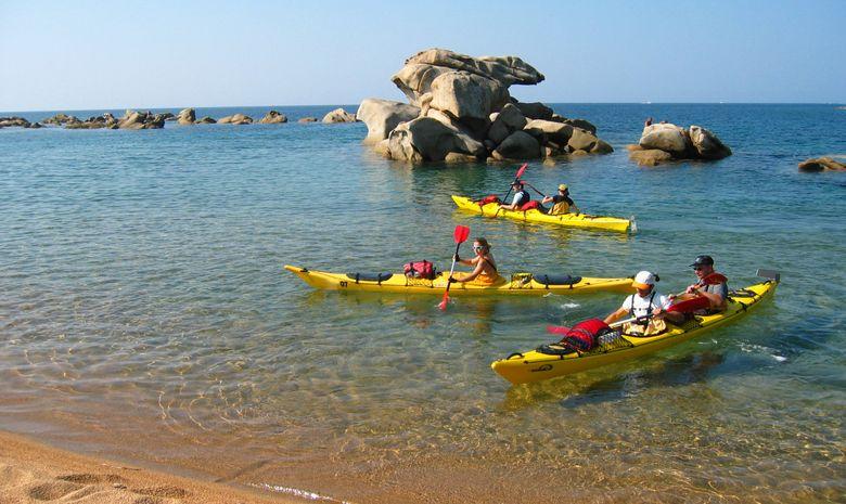 Semaine de kayak sur la Côte Ouest de la Corse-7