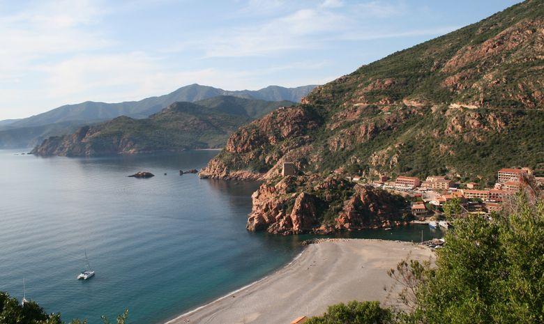 Semaine de kayak dans les calanques de la Corse-13