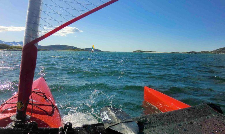 Raid kayak à voile-2