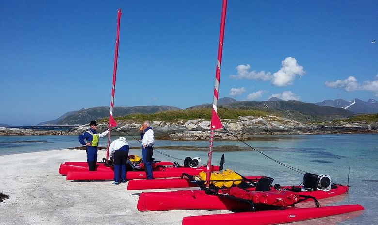 Raid kayak à voile-4