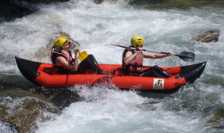 Séjour Canyoning rafting via ferrata-5