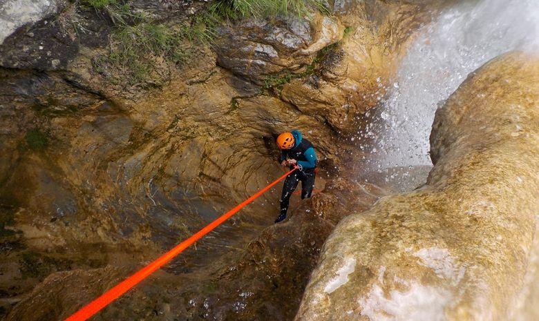 Séjour Canyoning rafting via ferrata-1