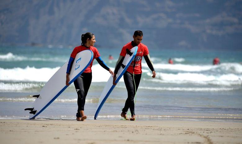 Surfcamp tous niveaux à Lanzarote