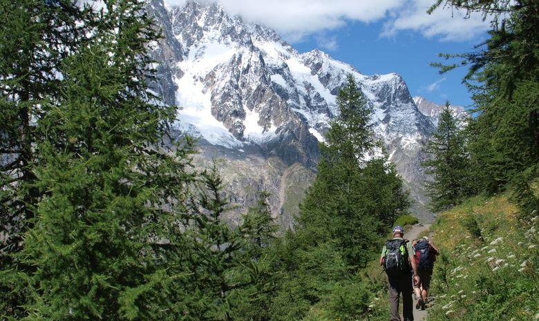Tour du Mont-Blanc en haute altitude en Liberté