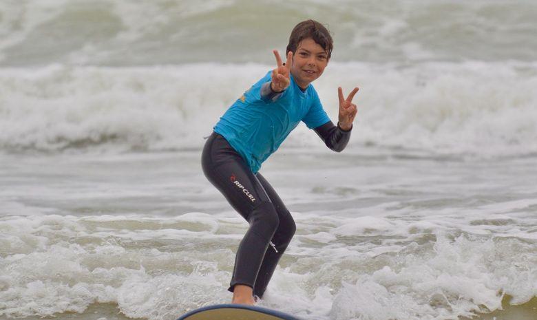 Stage de surf pour enfants (5 à 8 ans) à Capbreton-2