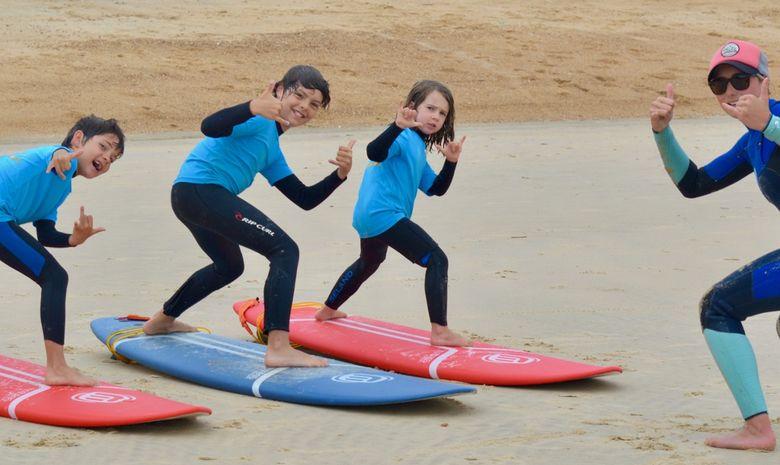 Stage de surf pour enfants (5 à 8 ans) à Capbreton-3
