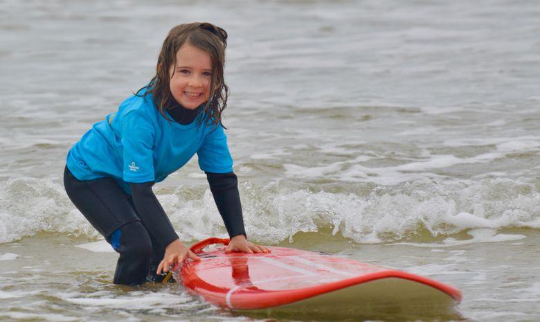 Stage de surf pour enfants (5 à 8 ans) à Capbreton-4