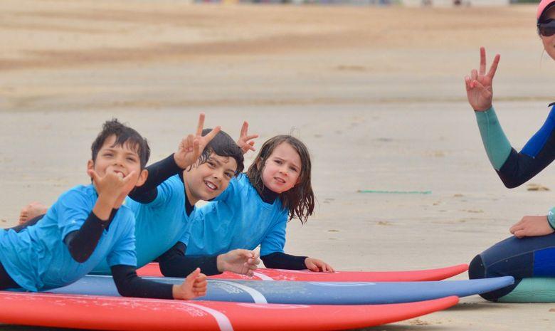 Stage de surf pour enfants (5 à 8 ans) à Capbreton-5