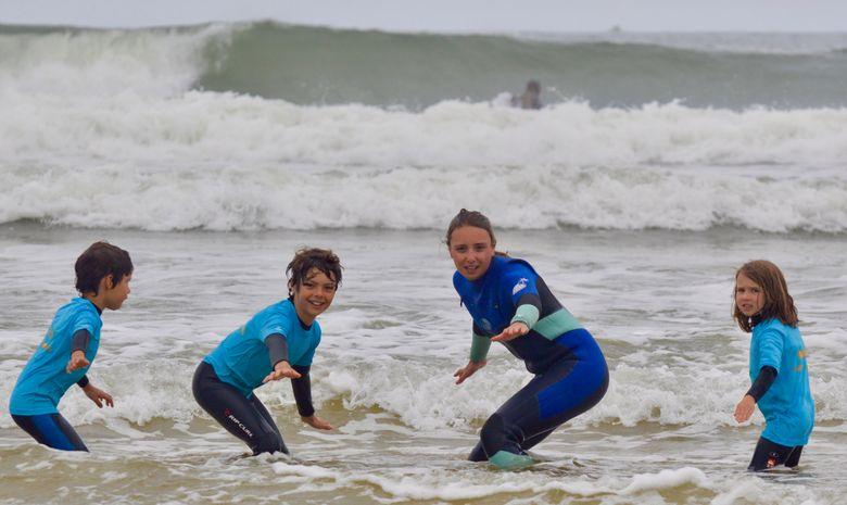 Stage de surf pour enfants (5 à 8 ans) à Capbreton-6