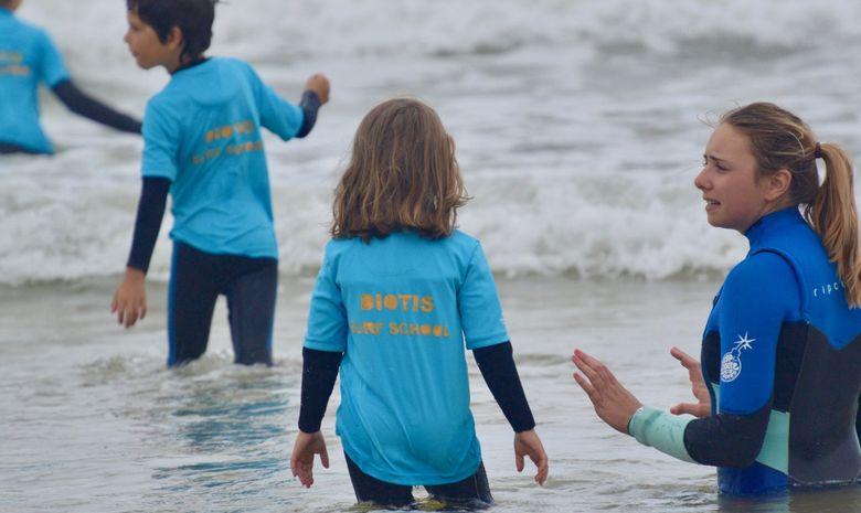 Stage de surf pour enfants (5 à 8 ans) à Capbreton-7