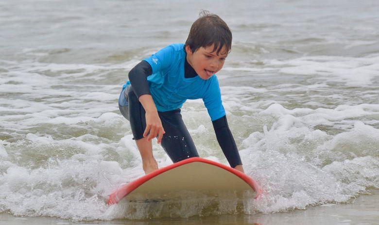 Stage de surf pour enfants (5 à 8 ans) à Capbreton-8