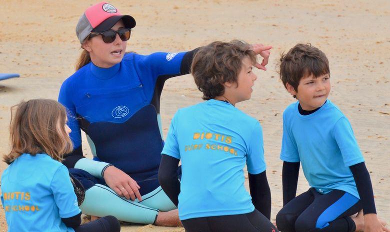 Stage de surf pour enfants (5 à 8 ans) à Capbreton-9