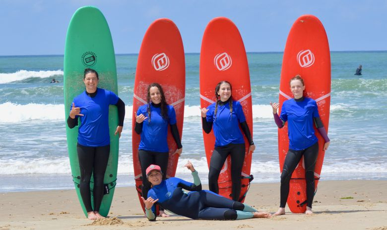 Stage de surf à Capbreton -1