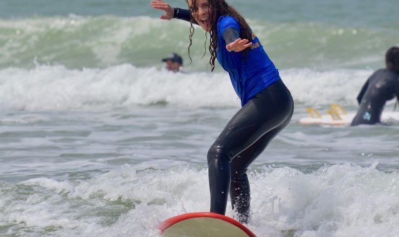 Stage de surf à Capbreton -2