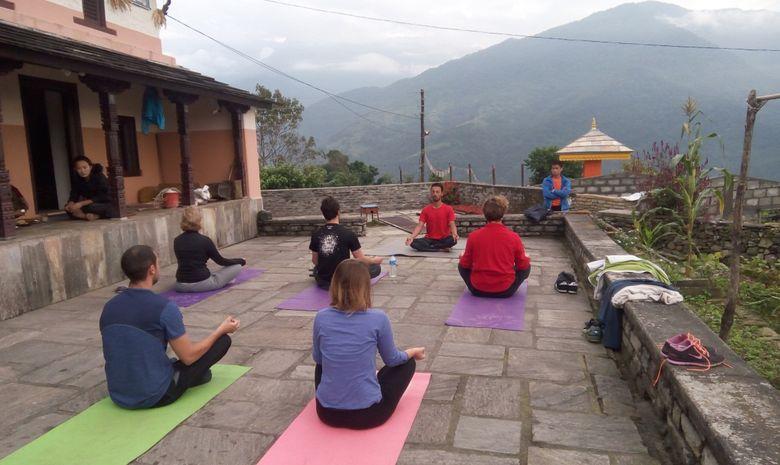 Stage Trek et Yoga aux Annapurnas-4