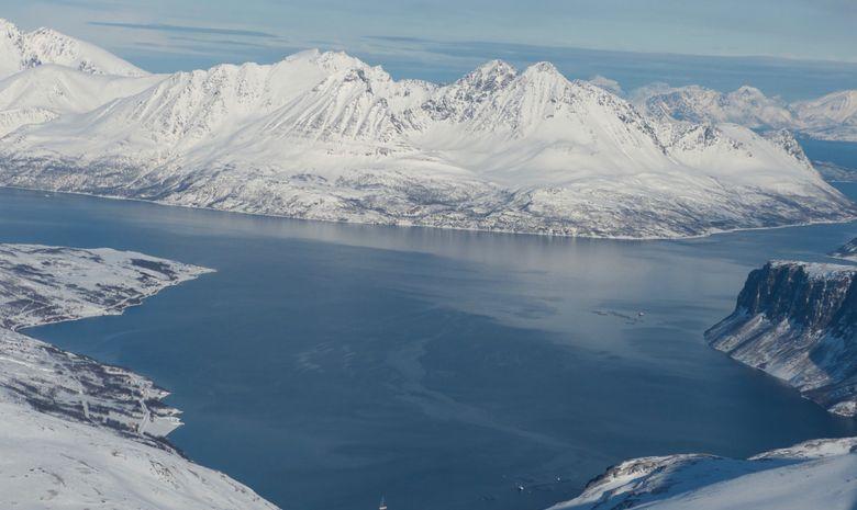 Ski de rando & voile dans les Alpes de Lyngen -8