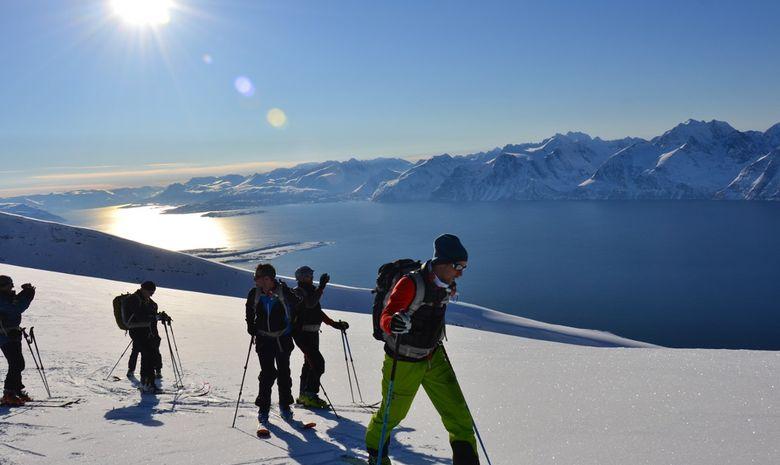 Ski de rando & voile dans les Alpes de Lyngen -2