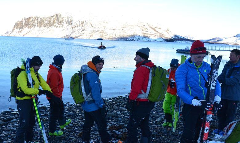 Ski de rando & voile dans les Alpes de Lyngen -6