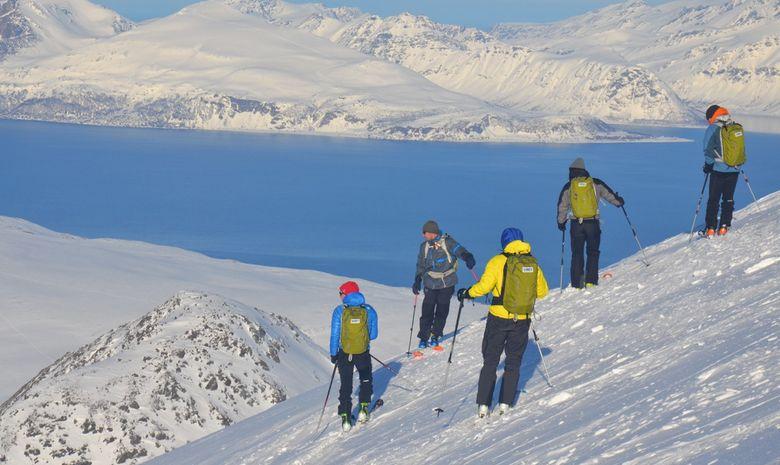 Ski de rando & voile dans les Alpes de Lyngen -5