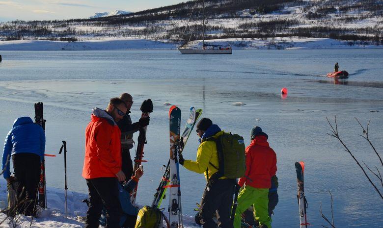 Ski de rando & voile dans les Alpes de Lyngen -7