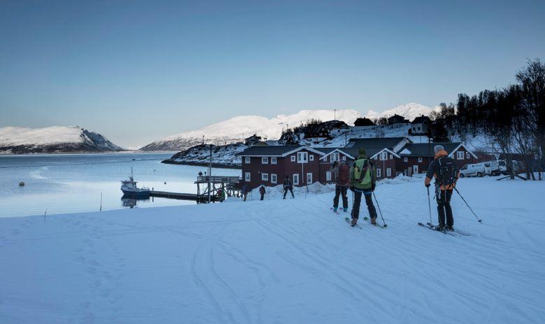Ski de rando & voile dans les Alpes de Lyngen -14