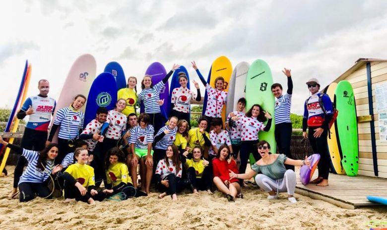 Surfcamp pour adolescents à Anglet