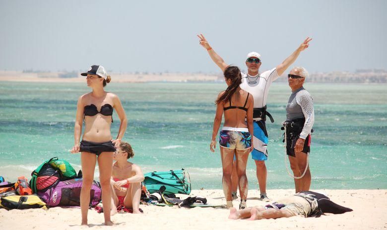Stage de kitesurf en formule privée en Egypte-4